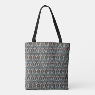 Rustic floral luxury squama military color pattern tote bag