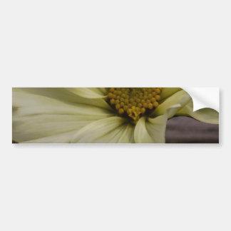 Rustic Flower Bumper Sticker