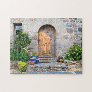 Rustic French Gite in Brittany France Jigsaw Jigsaw Puzzle