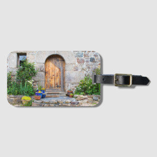 Rustic French Gite in Brittany France Luggage Tag