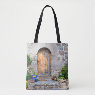 Rustic French Gite in Brittany France Tote Bag