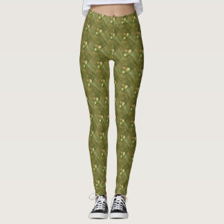 Rustic Green Leggings