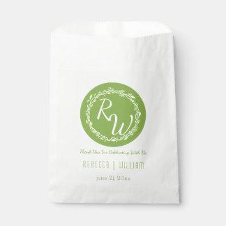 Rustic Greenery   Wedding Vine Festive Candy Bar Favour Bag