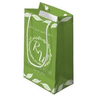 Rustic Greenery   Wedding Vine Leaves Versatile Small Gift Bag