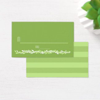 Rustic Greenery | Wedding Vine Place Card Escort