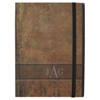 "Rustic Grunge Brown Book Design iPad Pro 12.9"" Case"