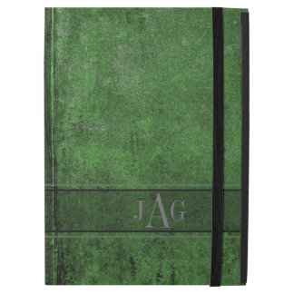 "Rustic Grunge Green Book Design iPad Pro 12.9"" Case"