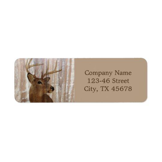 rustic grunge vintage wood grain hunter buck deer