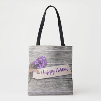 Rustic Happy Norooz Hyacinth - Tote Bag