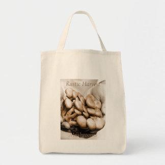 Rustic Harvest Mushrooms Photograph Tote Bag