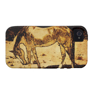 Rustic Horse Sketch No2 phone case iPhone 4/4S Cases