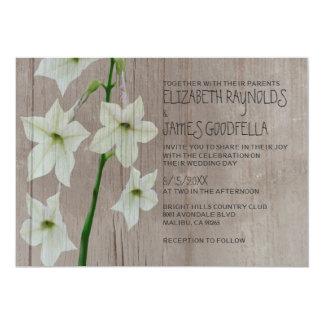 Rustic Jasmine Wedding Invitations