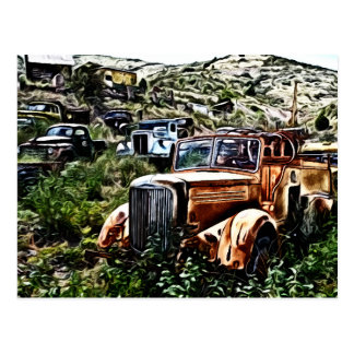 Rustic Jerome, Arizona Postcard