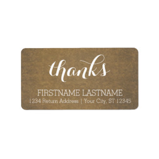 Rustic Kraft Print - Thanks Thanksgiving Family