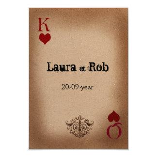 Rustic Las Vegas Wedding Cards
