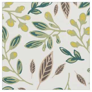 Rustic Leaves Fabric