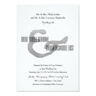 Rustic Letterpress Card