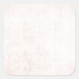 Rustic Light Apricot Square Sticker