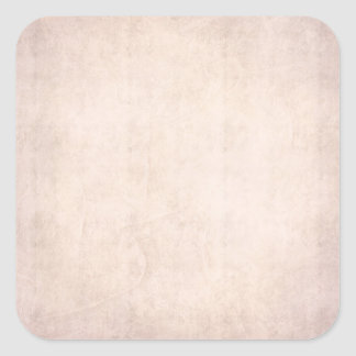 Rustic Light Apricot Square Sticker
