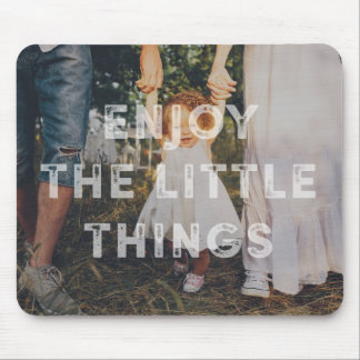 Rustic Little Things Photo Mousepad