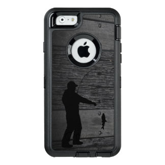 Rustic Man Fishing Phone Case