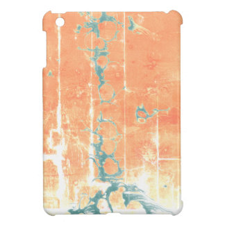Rustic marbling themed design case for the iPad mini