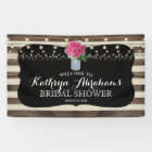 Rustic Mason Jar Wedding Bridal Shower Banner