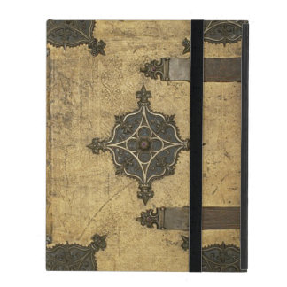 Rustic Medieval Leather Book Cover Design Cover For iPad