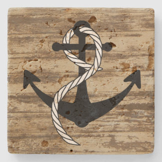 Rustic Nautical Anchor Coasters