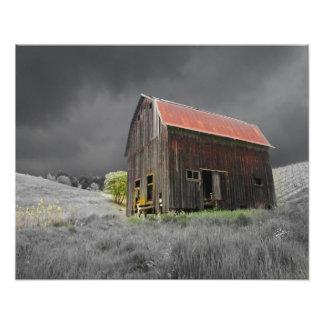 Rustic Old Barn Fine Art Photography Photo Print