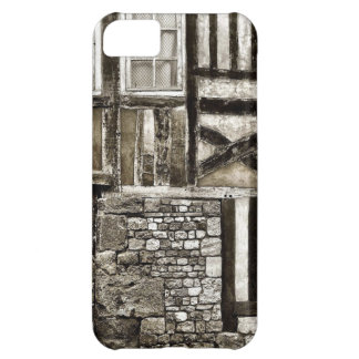 Rustic Old Wood and Stone Building iPhone 5C Case