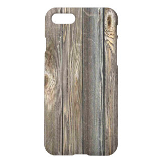Rustic Old Wood Texture iPhone 7 Case