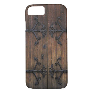 Rustic Old Wooden Door iPhone 8/7 Case