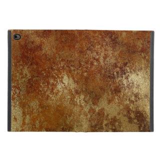 Rustic Orange Distressed Gold Texture iPad Mini 4 Case