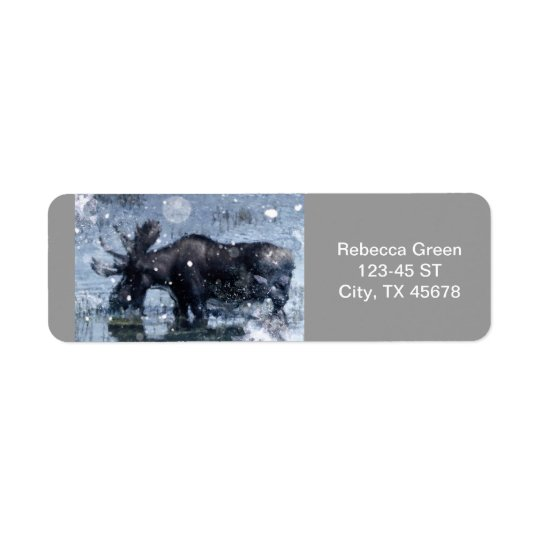 Rustic outdoorsman  wilderness wildlife bull moose