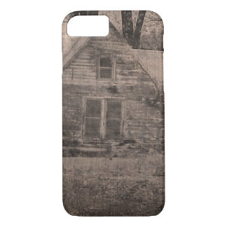 Rustic outdoorsmen Rural Backwoods Primitive Cabin iPhone 8/7 Case