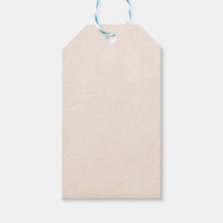 Rustic Papaya Whip Pack Of Gift Tags