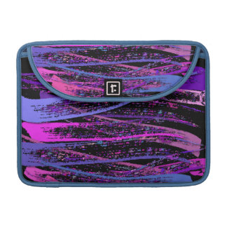 Rustic Pastel Strokes Shadow Sleeve For MacBooks