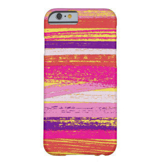 Rustic Pastel Strokes Wrap Barely There iPhone 6 Case