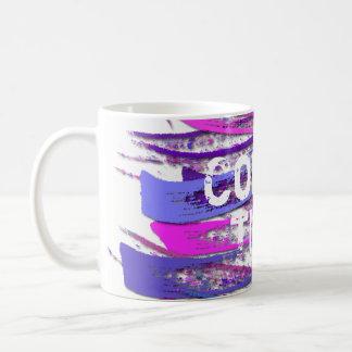 Rustic Pastel Strokes Wrap Coffee Mug