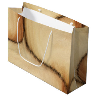 Rustic Patch Large Gift Bag