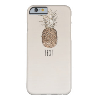 Rustic Pineapple Tropical Hawaiian Barely There iPhone 6 Case