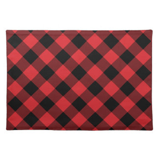 Rustic Red Buffalo Plaid | Holiday Placemat