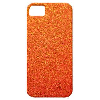 Rustic Rigid Tough Wall Orange Color Royal iPhone 5 Cases