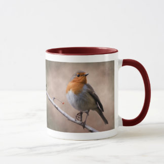Rustic Robin Mug