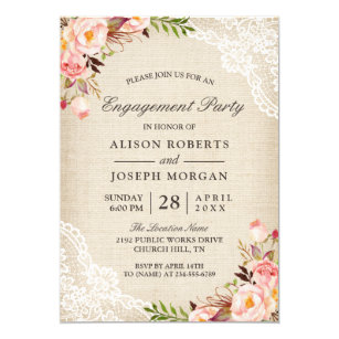 Engagement Party Invitations Zazzle Ca