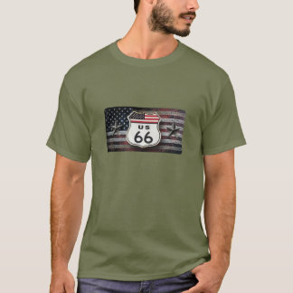 Rustic Route 66 T-Shirt