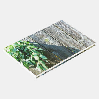 Rustic Sage Guest Book