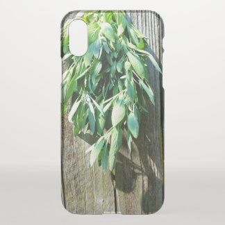 Rustic  Sage iPhone X Case