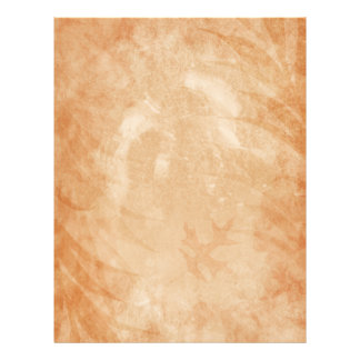 Rustic Sandstone Grunge Oak Leaves Letterhead